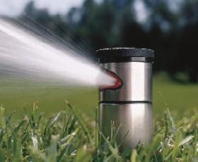 Automatische Beregnungsanlage Für Rasen Und Garten