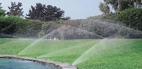 Bewässerungsanlage rasen